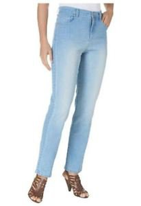 Gloria Vanderbilt Ladies Amanda Classic Fit Stretch Jeans~Sz-8 Average~NWT