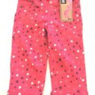 LEE Girls Toddler Stretch Jeans Pants~Pink/Purple Hearts~Sz-18 mo~NWT~ret-$50.