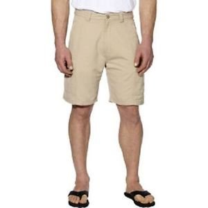 Jachs Men�s Cargo Casual Shorts~ 6 Pocket Design~Natural Stone~Size-32~NWT