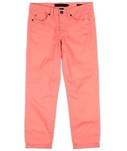 Calvin Klein Jeans Women's Skinny Crop Power Stretch Capri Pants~PINK~Sz-4~NWT