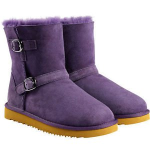 Kirkland Toddler & Kids Sheepskin Shearling Boots~Purple~Sz-12, 13, 2, 3, 4~NWT