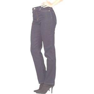 Gloria Vanderbilt Classic Rise Slimming Jeans~Amanda~Sz-10W-Average~NEW