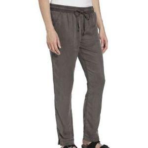 Calvin Klein Women's Pull on Drawstring Pants~Phantom Gray~Sz-S, M, L~NWT