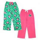 St. Eves Girl's 2 pack Fleece Sleep Pants w/ Penguins~LET IT SNOW~Size-8~NWT