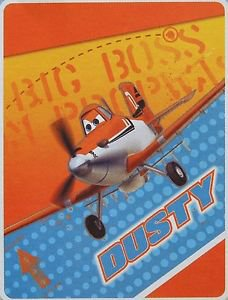"DISNEY PLANES ULTRA SOFT THROW FLEECE BLANKET~TWIN SIZE 59"" X 78""~NEW"