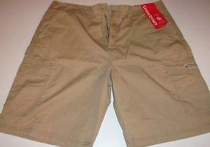 UnionBay Young Men's Cargo Casual Shorts~Grain~Sz-34~Light Weight~NWT