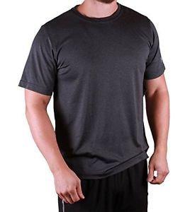 Fila Men's Active Performa Energy Crewneck S/S  Athletic TEE~GRAY~Sz-M~NWT