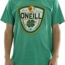 O'Neill St. Patricks Day Dublin T-Shirt World Famous Lager Beer~Green~Sz-XL~NWT