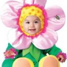 Precious Petals Baby Girl Flower Infant INCHARACTER Halloween Costume SET~6mo-2T
