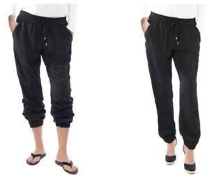 Buffalo by David Bitton Lightweight Tara Soft Comfort Pants~Black~Sz-S & L~NWT