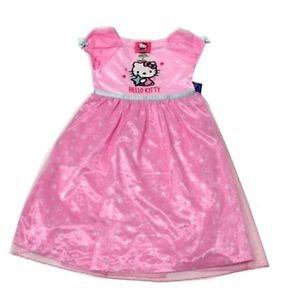 Hello Kitty by Sanrio Girls Nightgown Sleepwear~Sparkly PINK~Size-3T~NEW