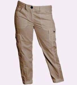 Tommy Hilfiger Women's Cropped Cargo Pants Capri~Khaki~Sz-2,4, 8, 12,14, 16~ NWT