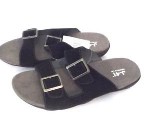 Jeep J-41 Women's Pingree Suede Buckle Slip On Sandals~Sz-6.5, 7, 7.8, 9, 10~NWT