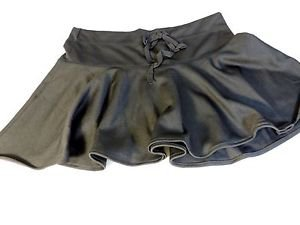 Doki Geki Girl's Flared Stretch Mini Skirt~BLACK~Sizes-S,M,L,XL~NWT~ret. $18.