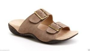 J Sport by Jambu Women's Carina Slip-on Suede Sandals~TAN~Sz-8.5~NWT~ret-$59