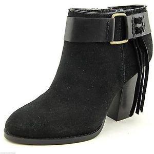 Kensie Ladies Massey Suede Ankle Boot US Sz-10.5~Black~NIB~ret-$129.