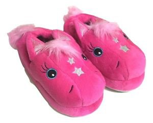 Stride Rite Girl's Toddler Magic Pony Pink Slippers~Sizes-S, M, L & XL~NWT