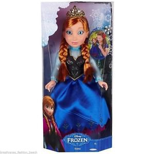 "DISNEY Frozen PRINCESS ANNA Doll~18""~Rare~NEW Sealed in Box"