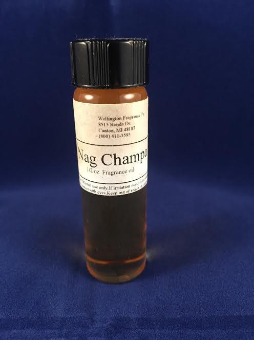 Nag Champa fragrance oil one half ounce