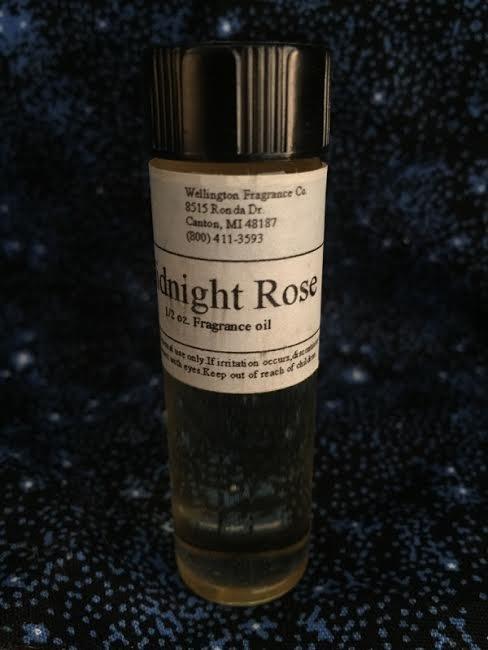 Midnight Rose Fragrance oil one half ounce with glass dropper