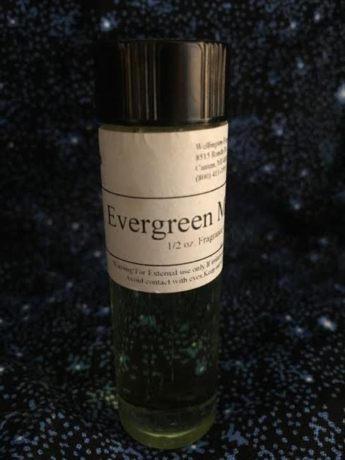 Evergreen Meadow fragrance oil one half ounce with glass dropper