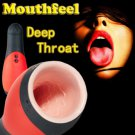 Deep Throat Sex Cup Sex Toys For Men Male Masturbator Vibration