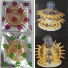2 psc Adult Sex Products Sensation Class Female G-spot Vaginal Stimulation Condoms