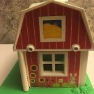 2555 FISHER PRICE Little People farm barn barnyard hayloft sliding doors handle