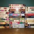 31 VHS VCR movies video tapes PG13 romantic comedy sci fi adventure mixed lot
