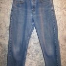Levis 569 Large Straight Fit classic denim blue jeans red tab men's size 30x30