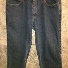 40x29 LEE Relaxed Fit Straight Leg men's 5 pocket denim blue jeans 100% cotton