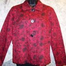CHRISTOPHER & BANKS women's size medium M blazer jacket professional retail $45