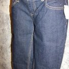 Dark blue super skinny stretch jeans women's junior size 5 Kohl's SO NWT ret $36