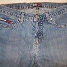 TOMMY HILFIGER size 3 junior girls jeans flare leg