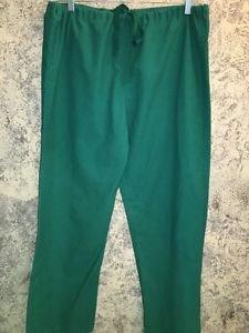 MEDLINE Comfort Ease surgical scrubs pants medical green unisex M reversible