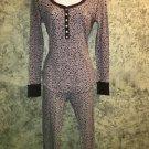 VICTORIA'S SECRET pajamas S pants shirt stretch long johns thermal waffle weave