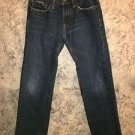 ABERCROMBIE Kids Classic Straight denim blue jeans pants slight distressing 12