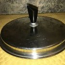 """Vntg stainless steel domed 6.75"""" sauce pan pot replacement lid diamond handle"""