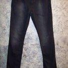 Black stretch AEROPOSTALE AERO Bala Skinny jeans women's junior 7/8 sparkles GUC