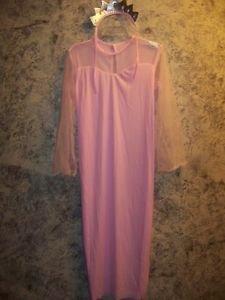 Girl's plus size 10.5-12.5 pink princess maxi dress tiara long lightweight NEW