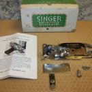 SINGER buttonhole attachment part #121795 replacement antique 1940s instructions