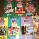 7 VHS VCR family children kids movies video tapes cartoons COUNTRY CITY MOUSE