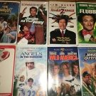 8 VHS VCR movies video tapes PG comedy action adventure DISNEY WARNER BROS kids