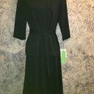WILROY Traveler New York 10 stretch knit black skirt set simple classy tie waist