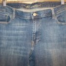 SWEETHEART boot cut 16 short mid rise denim blue jeans stretch 5 pocket casual