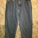 ARIZONA Relaxed  Loose fit denim blue jeans pants 14 16 Husky sizes 100% cotton