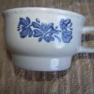 PFALTZGRAFF Yorktowne cup saucer tea flower heart EUC