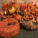 Fall Thanksgiving home decor lot pumpkin cornucorpia rustic farm house nature