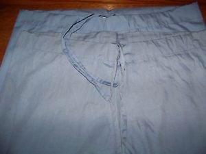 2 ceil blue AMS drawstring surgical medical vet 1 pocket scrubs pants unisex XXS