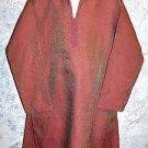 Children's boy kurti kutra shirt tunic fine beads embroidery red green size 5 EC